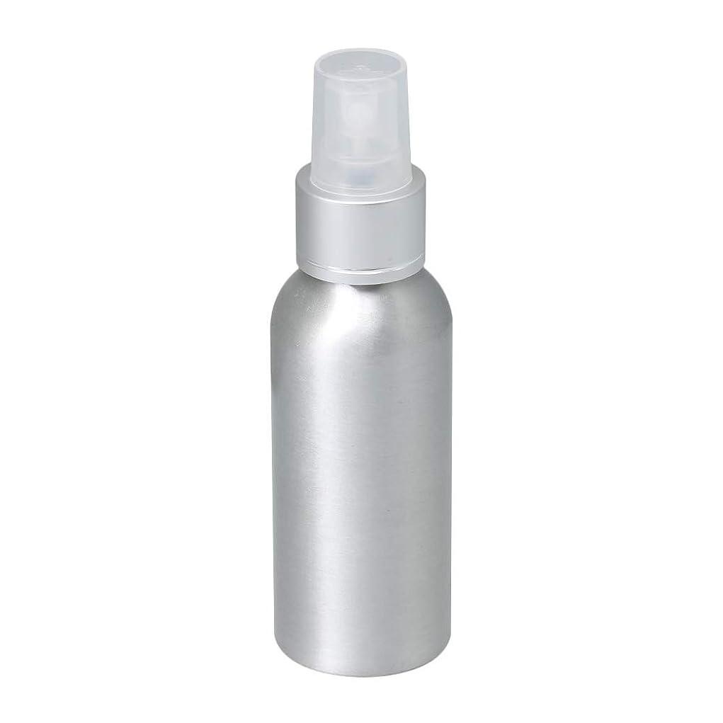 自伝教会ハンドブック100ml アルミ スプレーボトル 噴霧器 美容ボトル 小分け容器 化粧水 漏れ防止 女性用 香水ボトル 0.1-0.15 ml/t クリアノズル