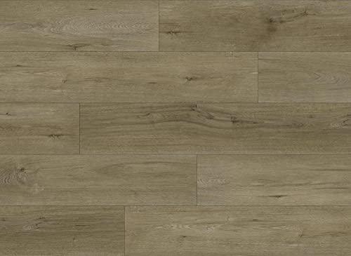 Kraus LVT Luxury Click Fit - Suelo de vinilo 100% impermeable, paquete de 2,2 m² - QEPLVTP008