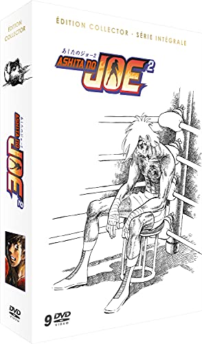 あしたのジョー2 コンプリート DVD-BOX (全47話, 1148分) ちばてつや アニメ [DVD] [Import] [PAL, 再生環境をご確認ください]
