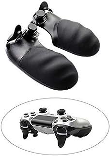 SHEAWA PS4 コントローラー用拡張トリガー ハンドル L2 R2 拡張ボタン 延長トリガー 押しやすい 滑り止めクリップ Play Station 4