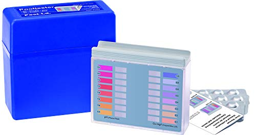 YMBERSA Estuche Analizador Pooltester pH y Cobre (Libre) / Zinc