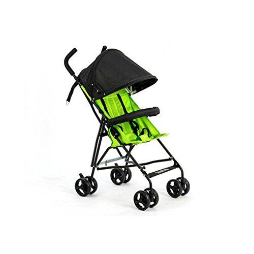 Poussette facile à plier légère et compacte 4 roues poussette pour bébé poussette confortable poussette landau sécurité poussette bébé panier