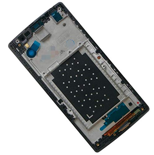 Lysee Mobile Phone LCD Screens - For LG K7 LCD Display Tribute 5 LS665 LS675 MS330 LCD Touch Screen Digitizer with Frame Assembly Replacements For LG K7 Screen - (Color: LCD NO TOOLS)