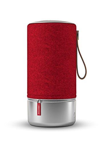 Libratone ZIPP Copenhagen Edition Wireless Lautsprecher (360° Sound, Wlan, Bluetooth, MultiRoom, Airplay 2, Spotify Connect, 10 Std. Akku) raspberry red
