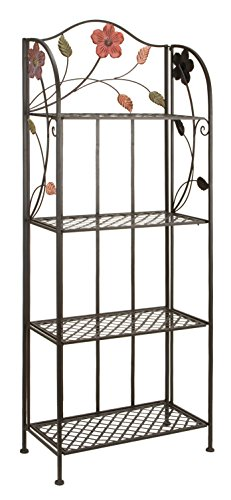 Deco 79 63065 Metal Bakers Rack, 25 68-Inch