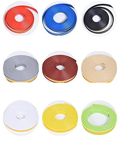2M cinta adhesiva para bandas de borde 5-36mm U hojas de chapa de PVC para muebles armario protector de borde de mesa tira de...