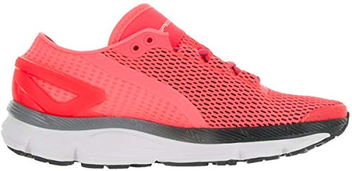 Under Armour Women's UA Speedform Gemini 2.1 Brilliance/White/Stealth Gray Sneaker 7 B (M)