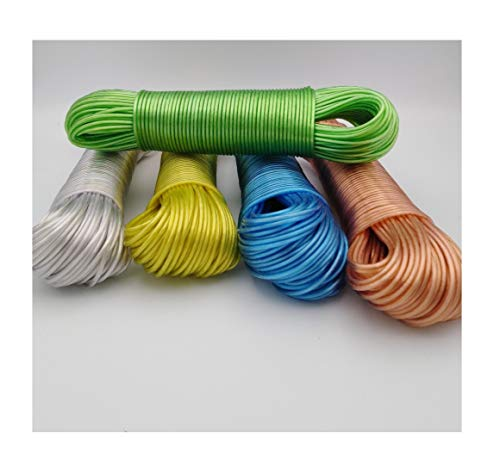 RDI Wäscheleine Leine Extra Stark Seil mit Stahleinlage 50 m