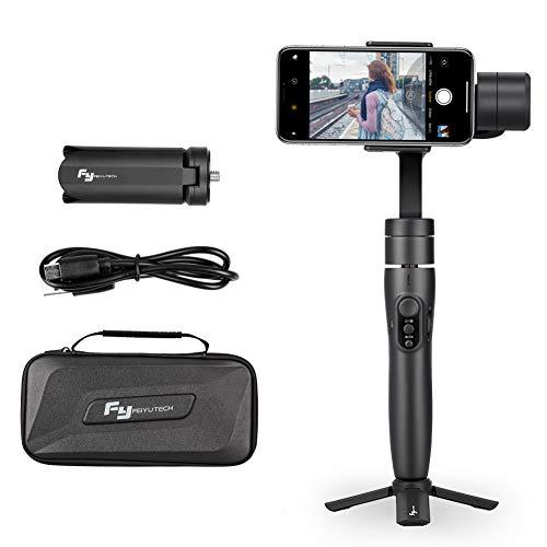 Stabilizzatore Smartphone Gimbal, Feiyu Stabilizzatore Vimble 2 Gimbal Smartphone per Iphone, Action Camera e Tutte Le Videocamere di Gopro