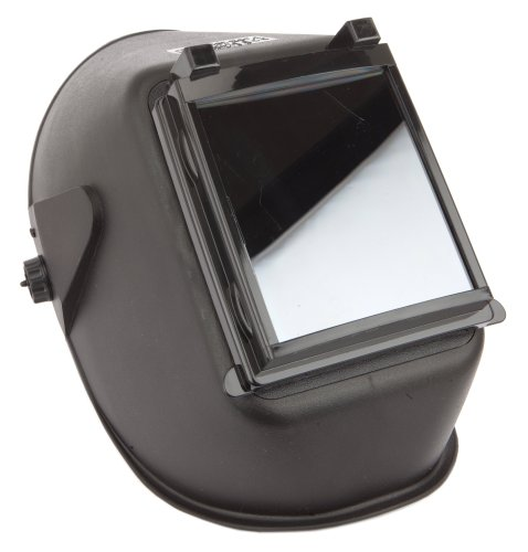 Forney 55672 Welding Helmet, Bandit III Flip Front, Shade-10,Black