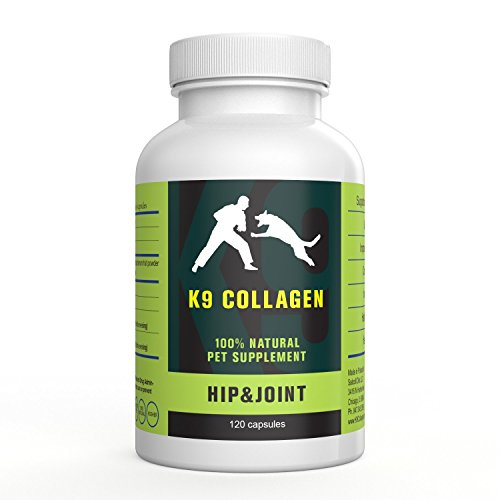 K9 Collagen Hip & Joint Supplement for Dogs - Supports Healthy Joints Cartilage & Skin Vitamins for Dogs - Aids Muscle Regeneration Boosts Collagen Production for Better Overall Health