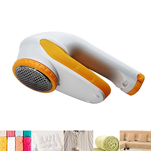 Fabric Shaver with Adjustable Depth Guard,Electric Portable Fabric Shaver & Lint Remover with Cleaning Brush Portable Bobble Remover for Clothes(as The Picture)
