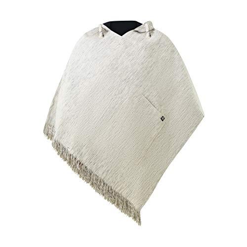 virblatt - Poncho Herren | 100% Baumwolle | Poncho Winter Nepal Jacke | Wendefunktion | Jerga Baja Hoodie Stoff Poncho - Abajo L-XL WD