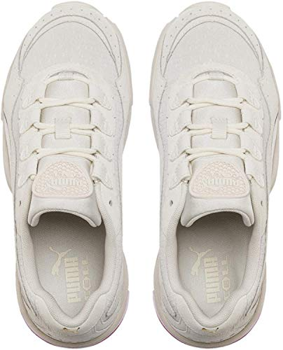 PUMA Cell Stellar Tonal Damen Sneaker Marshmallow-Puma Team Gold UK 4_Adults_FR 37