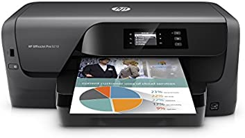 HP OfficeJet Pro 8210 Wireless Color Printer with Mobile Printing, Amazon Dash replenishment ready (D9L64A) (Renewed)