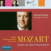 L. モーツァルト/W.A. モーツァルト/F. モーツァルト:リート集(ヤルノット/シュマルツ)