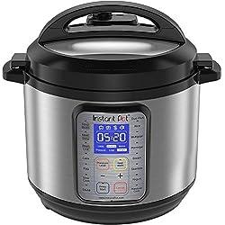 Image of Instant Pot DUO Plus 60, 6 Qt 9-in-1 Multi- Use Programmable Pressure Cooker, Slow Cooker, Rice Cooker, Yogurt Maker, Egg Cooker, Saut, Steamer, Warmer, and Sterilizer (Renewed): Bestviewsreviews