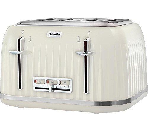Breville Impressions 4 Slice Toaster - Cream by Breville