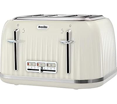 Breville Impressions 4 Slice Toaster - Cream by Breville