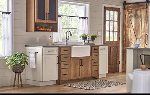 "Houzer PTG-4300 WH Apron-Front Fireclay Single Bowl Kitchen Sink, 33"", White"