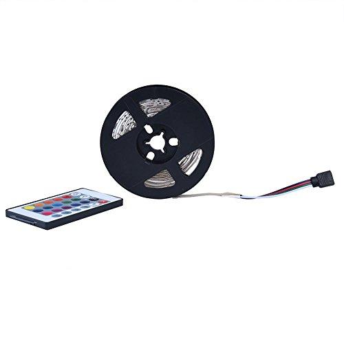 Tiras de Luces LED, Tira de Luces LED RGB 5050 Luces de Cinta LED No Impermeables Cambio de Color Flexible RGB USB DC 5V Tira de LED para TV/PC/Laptop Iluminación de Fondo(4m)
