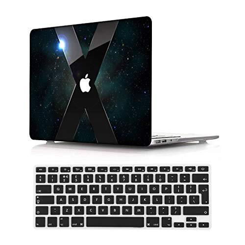 NEWCENT Newest MacBook Air 13' Case,Plastic Ultra Slim Light Hard Case UK Keyboard Cover for Newest MacBook Air 13 inch with Retina Display Touch ID 2018 2020 Release(Model:A1932/A2179),Diablo 6