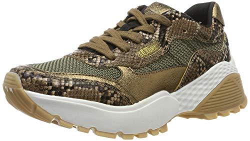 s.Oliver Damen 5-5-23610-23 Sneaker, Braun (Brown Snake 329), 39