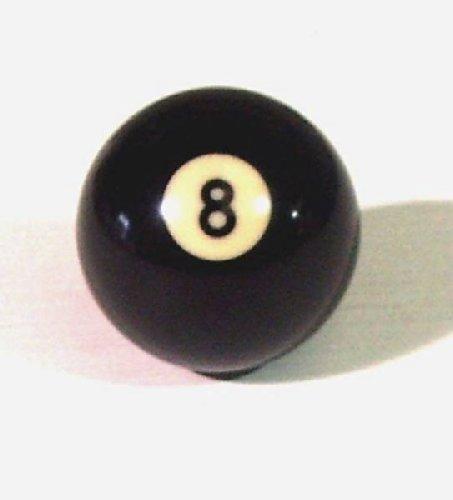 Schaltknauf, Design Poolkugel 5,1cm, schwarze8er-Billardkugel