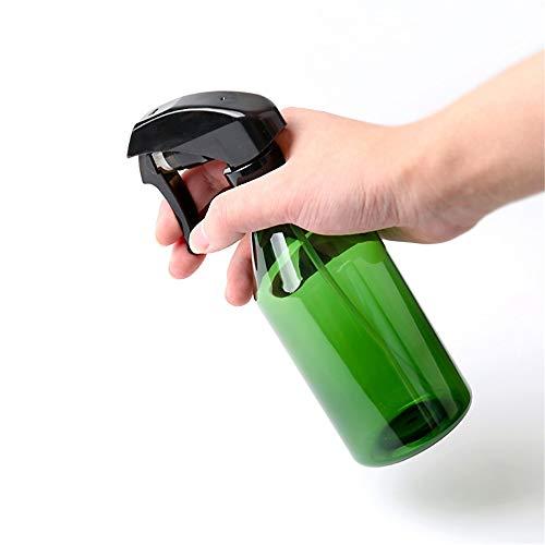 PN-Braes 300mlFine Mist Ambre Vaporisateur Pack 2 for Coiffeuse Barber en Plastique d'eau Atomiseur (Color : Green, Size : 300ml)
