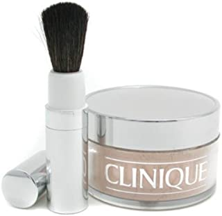 Clinique Blended Face Powder and Brush, No. 03 Transparency, 1.2 ounces