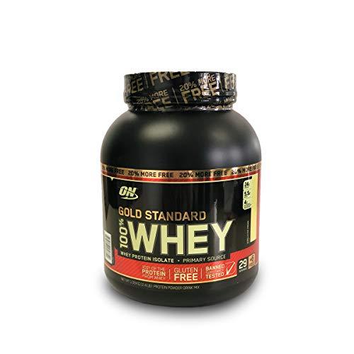 100% Whey Protein Gold Standard 1,09Kg (20% Bônus) - Sabor Vanilla Ice Cream, Optimum Nutrition
