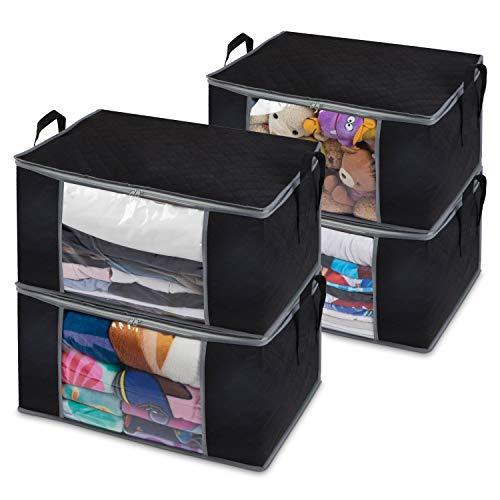 Foldable cloth storage box / bag