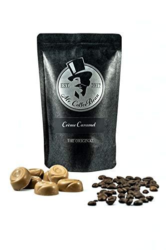 Mr. CoffeeBean Creme Caramel Coffee l Karamell Kaffee l geröstete und aromatisierte Arabica Kaffeebohnen l ganze Bohnen l 3 x 100g