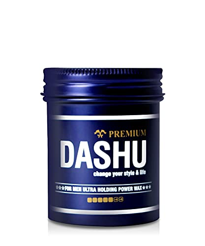 DASHU Premium Ultra Holding Power Wax 3.5oz – Extra Strong Hold Without Shine, Easy to Wash, Styling Wax