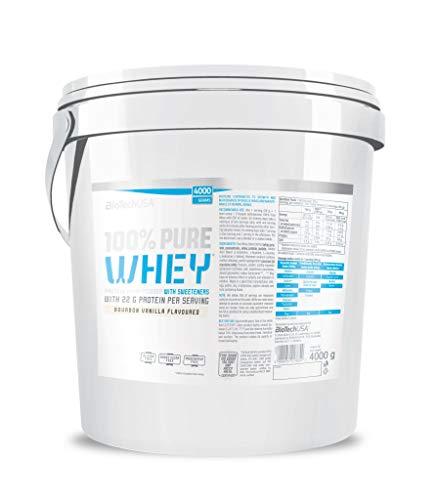 Biotech 100% Pure Whey Proteínas Vainilla - 4000 gr