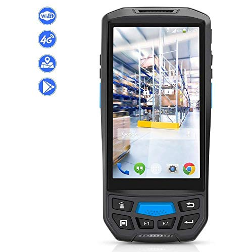 Best Deals! Barcode Scanners 5.0 inch 1D / 2D QR NFC WiFi PDA Android 7.0 5 inch Wireless Portable B...