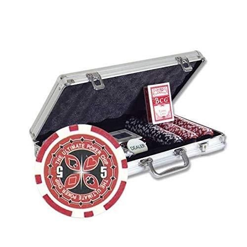 Cartes Production - Valigetta UPC per Poker, con 300 fiches