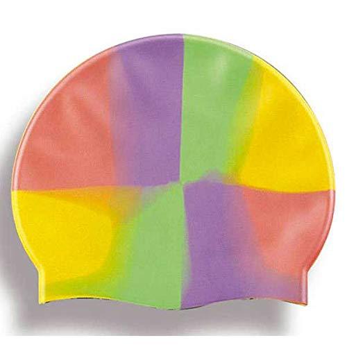 Burbujita 94.008-1 - Gorro natación, silicona, multicolor