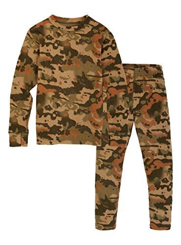 Burton Jungen Fleece Set Thermo Unterwäsche, Kelp Birch Camo, L