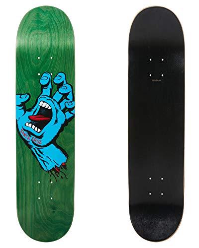 Santa Cruz Screaming Hand 7.75' Green Plateau Skateboard - 7.75'