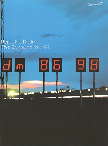 Depeche Mode: Singles 86-98. Partitions pour Piano, Chant et Guitare(Boîtes d\'Accord)