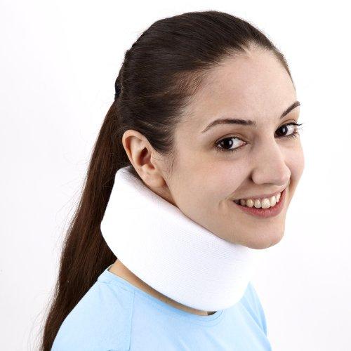 Physioroom Nackenbandage Cervical Stütze- zur Linderung von Schmerzen bei Schleudertrauma, Nackensteifheit, Verspannungen der Muskulatur | Memory Foam Material für optimalen