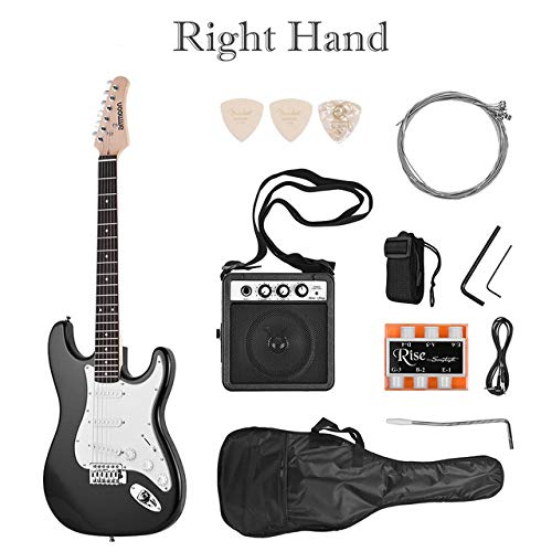 FYTVHVB 21-String 6-String elektrische gitaar massief hout Paulownia hals met luidspreker gitaar accessoires