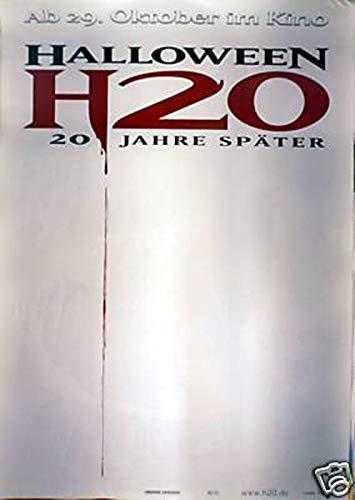 Halloween: H20 Teaser - Filmplakat A1 84x60cm gerollt