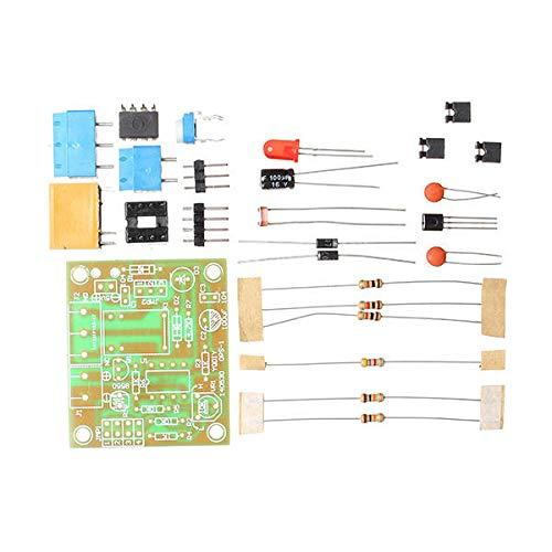 MING-MCZ Duradero Kit de interruptores de Interruptor de luz de Bricolaje Interruptor de Control de luz con DC fotosensible 5-6V 10PCS Fácil de Montar