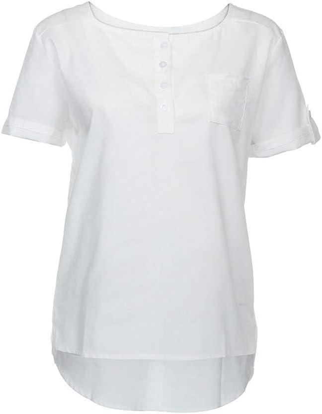 GPPZM Casual Max 84% OFF Women Blouse Summer Superlatite Short Casua Loose Sleeve