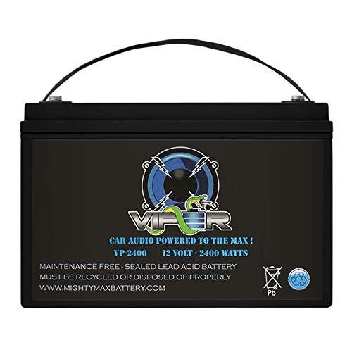 Viper VP-2400 12V 2400 Watt Replacement Battery for Kinetik HC2400