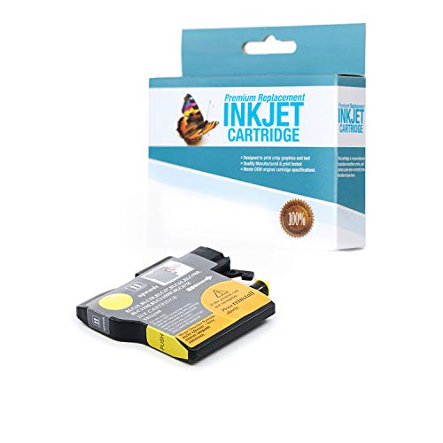 SuppliesOutlet Compatible Ink Cartridge Replacement for Brother LC61 / LC61Y (Yellow,1 Pack)