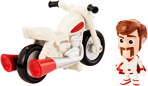 Toy Story - Minis Disney Pixar Duke Caboom con Moto Mini Personaggio con Veicolo da Collezionare, per Bambini da 3+ Anni, GCY50