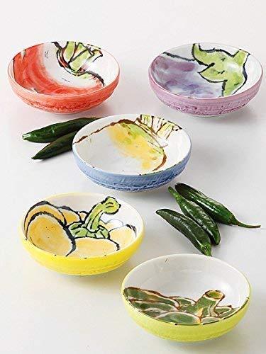 エールネット(Ale-net) 京野菜 3寸 小鉢揃 小鉢セット 美濃焼